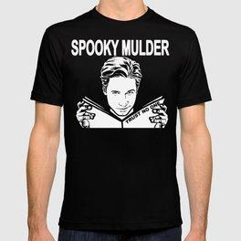 Spooky Mulder (black) T-shirt
