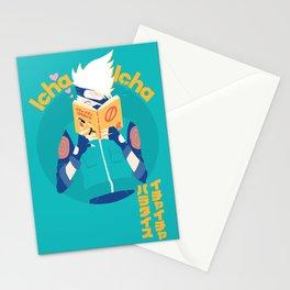 Kakashi and Icha Icha Stationery Cards