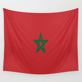 Flag of Morocco Wall Tapestry