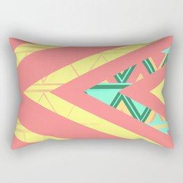 Ethnic triangles Rectangular Pillow