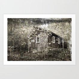 Elmont Cabin Art Print