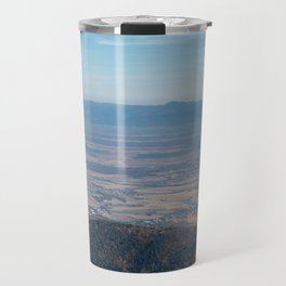View at the mountains Travel Mug
