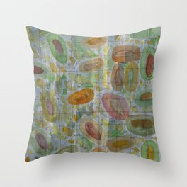 Number Grid  Throw Pillow
