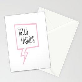 Hello fashion! Stationery Cards