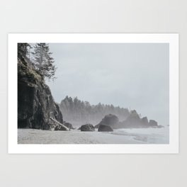 Ruby Beach Art Print