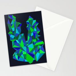 Triangle Abstract Stationery Cards