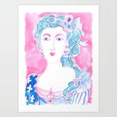 Marie A Art Print