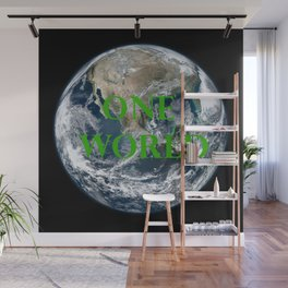 One World Wall Mural