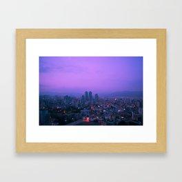 Daegu Morning Framed Art Print