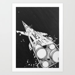 Hold it Together Art Print