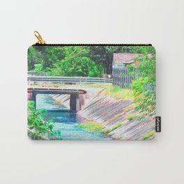 Water Canal (Impressionistic) Carry-All Pouch