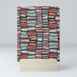 Colorful Books Mini Art Print