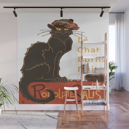 Le Chat  Burns Nuit With Haggis and Dram Wall Mural