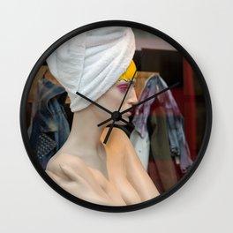 Mannequin 18 Wall Clock