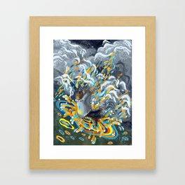 Joy of Rain Framed Art Print