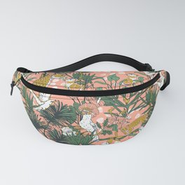 ANIMALS IN THE RAINFOREST I Fanny Pack