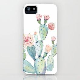 Cactus 2  White #society6 #buyart iPhone Case