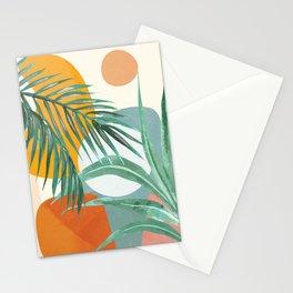 Leaf Design 02 Stationery Cards