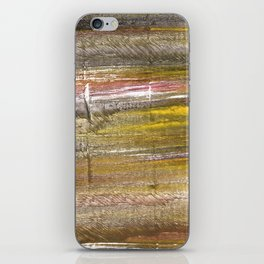 Grullo abstract watercolor iPhone Skin