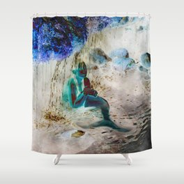 Mermaid: Front Shower Curtain