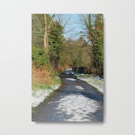 A Run on the Banks Donegal Ireland Metal Print