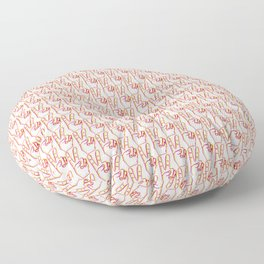 Peace fingers Floor Pillow