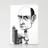 arnold Stationery Cards featuring Arnold Schoenberg by Gareth Southwell