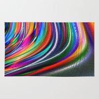 aurora Area & Throw Rugs featuring Aurora by David  Gough