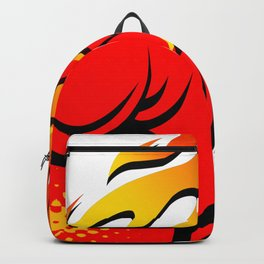 Fists Of Fire Backpack