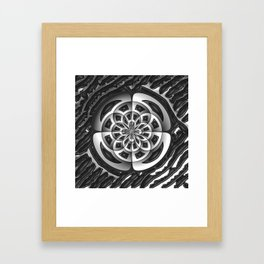 Metal object Framed Art Print
