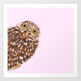 OWL HI Art Print