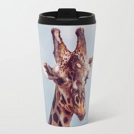 Giraffe Kenya Travel Mug