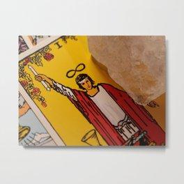 Tarot: The Magician Card Metal Print