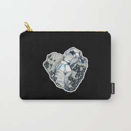 Hematite Crystal Cluster Carry-All Pouch