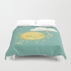 Little Sun Duvet Cover