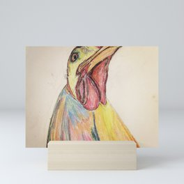 Vegan Hen Mini Art Print