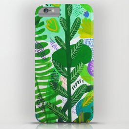 Between the branches. II iPhone Case