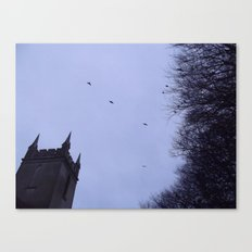 Winter Gothica Canvas Print