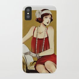 Flapper Girl #2 iPhone Case
