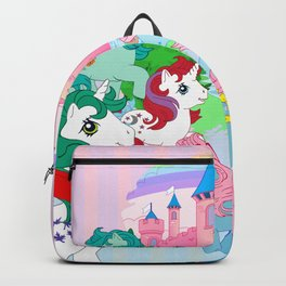 retro g1 my little pony Dream Castle Backpack