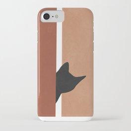 Peeking In iPhone Case