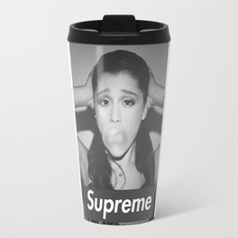arianagrande bubblegum x  supreme Travel Mug
