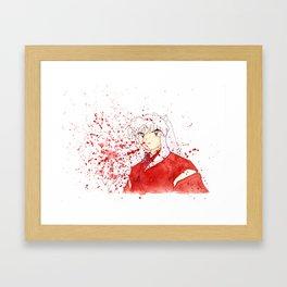 Dog Demon Framed Art Print