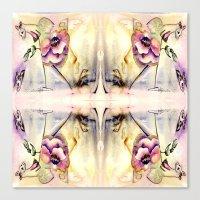 fairy Canvas Prints featuring Fairy by CrismanArt