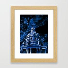 The Invalides Chapel in Paris Framed Art Print