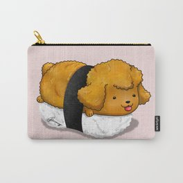 Poodle Nigiri Carry-All Pouch