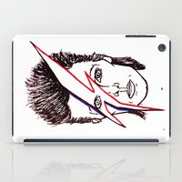 aladdin iPad Cases featuring Bowie Aladdin by Diego L.D.