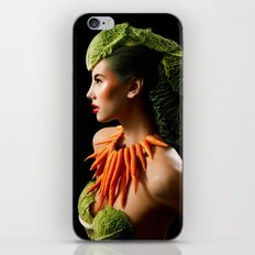 Eat Your Greens iPhone & iPod Skin