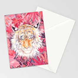 Autumn Tiger Stationery Cards
