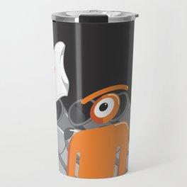 cold glance Travel Mug